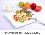 fresh vegetables on the dish... | Shutterstock . vector #232983262