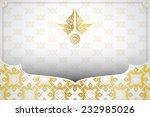 asian traditional art design... | Shutterstock .eps vector #232985026
