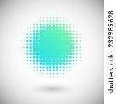 halftone effect vector... | Shutterstock .eps vector #232989628