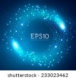 shining bokeh illustration.... | Shutterstock .eps vector #233023462