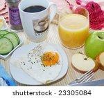 breakfast | Shutterstock . vector #23305084