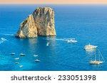Faraglioni Cliffs Panorama And...