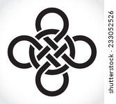 celtic symbol  illustration   Shutterstock .eps vector #233052526