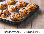 Muffins In A Baking Pan