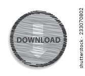 download icon | Shutterstock .eps vector #233070802