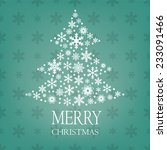 christmas tree made of... | Shutterstock .eps vector #233091466