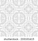 floral  oriental pattern with... | Shutterstock . vector #233101615