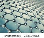 graphene molecular structure   Shutterstock . vector #233104066