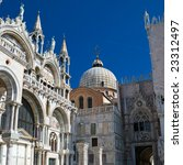 Beautiful Saint Mark cathedral in Venice, Italy - stock photo