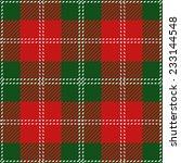 Christmas Tartan Plaid Design