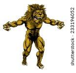An Illustration Of A Lion Scar...