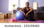 african grandmother happy after ... | Shutterstock . vector #233198482