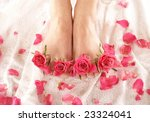 spa composition of legs and... | Shutterstock . vector #23324041