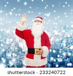 christmas  holidays  gesture... | Shutterstock . vector #233240722