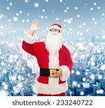 christmas  holidays  gesture... | Shutterstock . vector #233240722