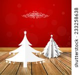 christmas background with... | Shutterstock .eps vector #233258638
