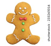 gingerbread man christmas and... | Shutterstock . vector #233265016