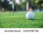 golf ball on the green | Shutterstock . vector #233298736