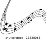 musical notes | Shutterstock .eps vector #23330065