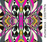traditional ornamental paisley... | Shutterstock .eps vector #233379976