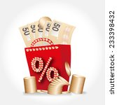 bag with money | Shutterstock . vector #233398432