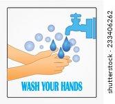 Wash Your Hands Symbol Wash...