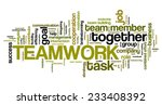 company teamwork issues and... | Shutterstock . vector #233408392