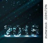 new year celebration...   Shutterstock . vector #233417296