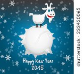 happy new year 2015. year of... | Shutterstock .eps vector #233420065