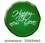 seal in a bubble shape | Shutterstock . vector #233434462