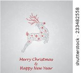 christmas_greeting_card_made_fro... | Shutterstock .eps vector #233482558