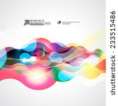 abstract vector background | Shutterstock .eps vector #233515486