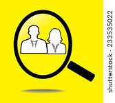 looking for an employee | Shutterstock .eps vector #233535022
