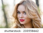 portrait of an incredibly... | Shutterstock . vector #233558662