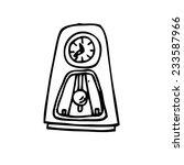 antique clock | Shutterstock . vector #233587966
