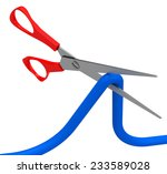 the scissor | Shutterstock . vector #233589028