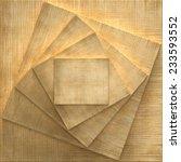 3d  frame on wooden background | Shutterstock . vector #233593552