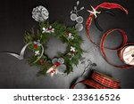 process of making a christmas... | Shutterstock . vector #233616526