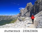 """passo santner"" route with... 