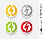 realistic design element ... | Shutterstock . vector #233624518