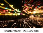 the motion blurred abstract... | Shutterstock . vector #233629588