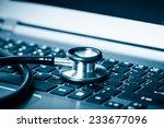 computer or data analysis  ... | Shutterstock . vector #233677096