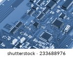 close up of electronic circuit... | Shutterstock . vector #233688976
