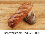 different rye and white flour... | Shutterstock . vector #233721808
