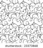 seamless forest pattern | Shutterstock .eps vector #23373868