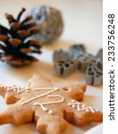 christmas background with... | Shutterstock . vector #233756248