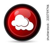 Clouds Icon. Internet Button O...