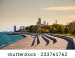 chicago skyline from north  side | Shutterstock . vector #233761762