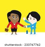 make a good deal. | Shutterstock .eps vector #233767762
