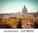 st peters basilica in rome ... | Shutterstock . vector #233788042